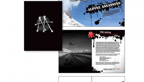 Alpine Assassins Booklet